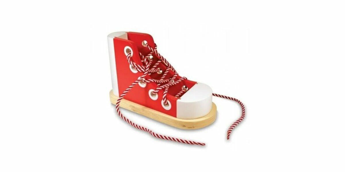 Chaussure-lacer-basket-Melissa-Doug