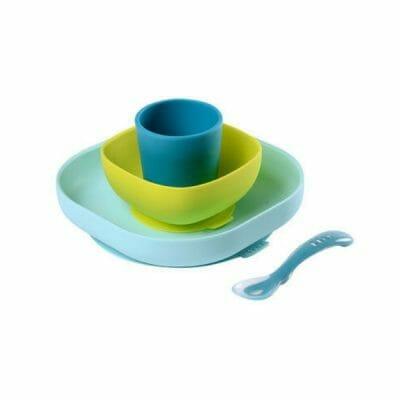 Set-vaisselle-bébé-Béaba-silicone