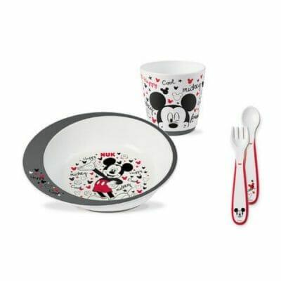 Set-vaisselle-bebe-Nuk-Mickey