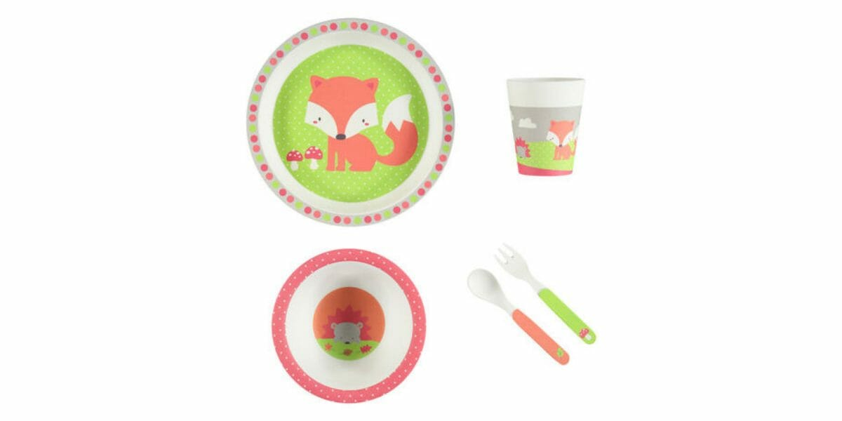 Set-vaisselle-bebe-Premaman-renard