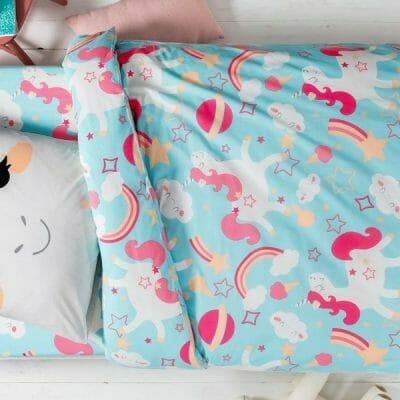 parure-lit-enfant-licorne